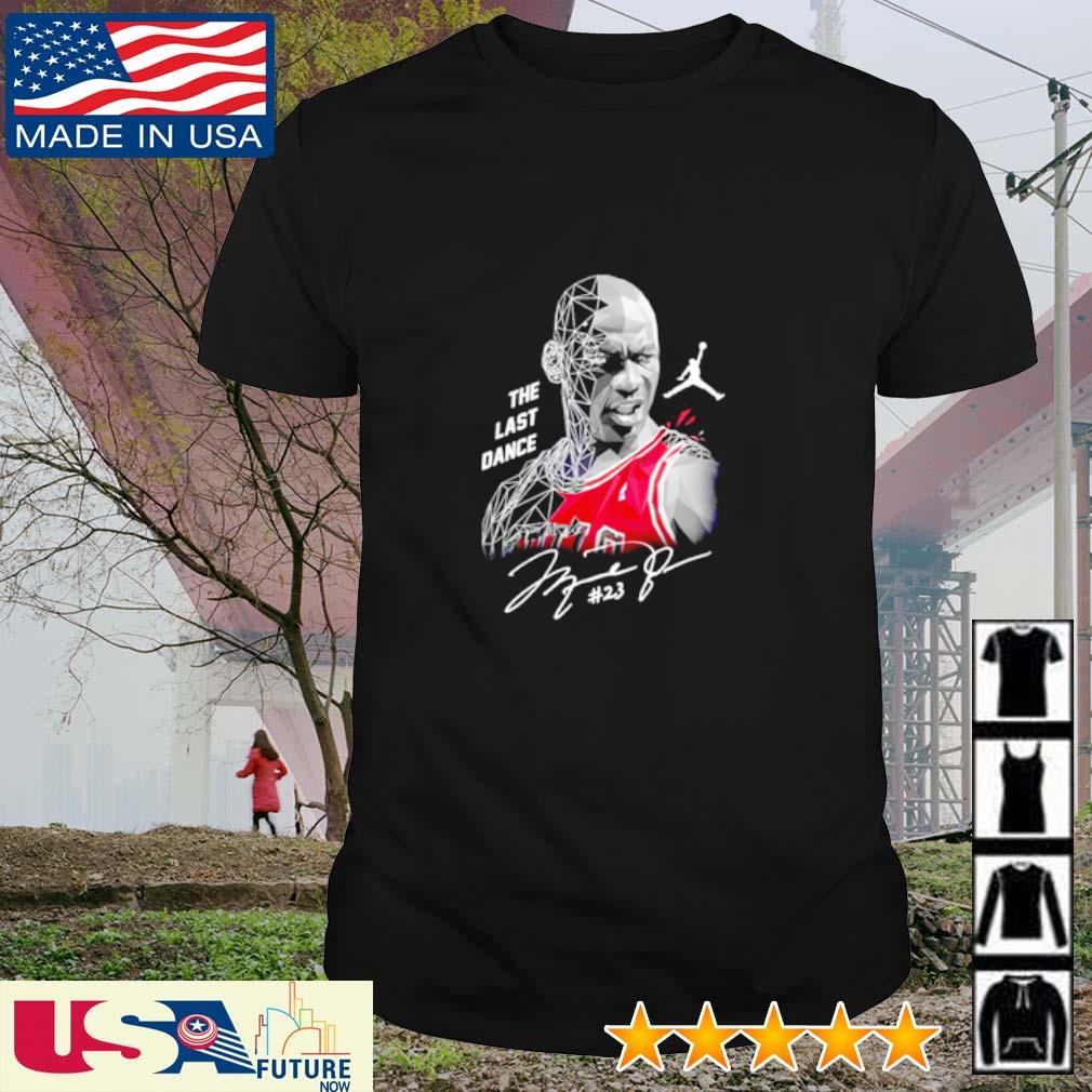 Michael Jordan The last dance signatures shirt