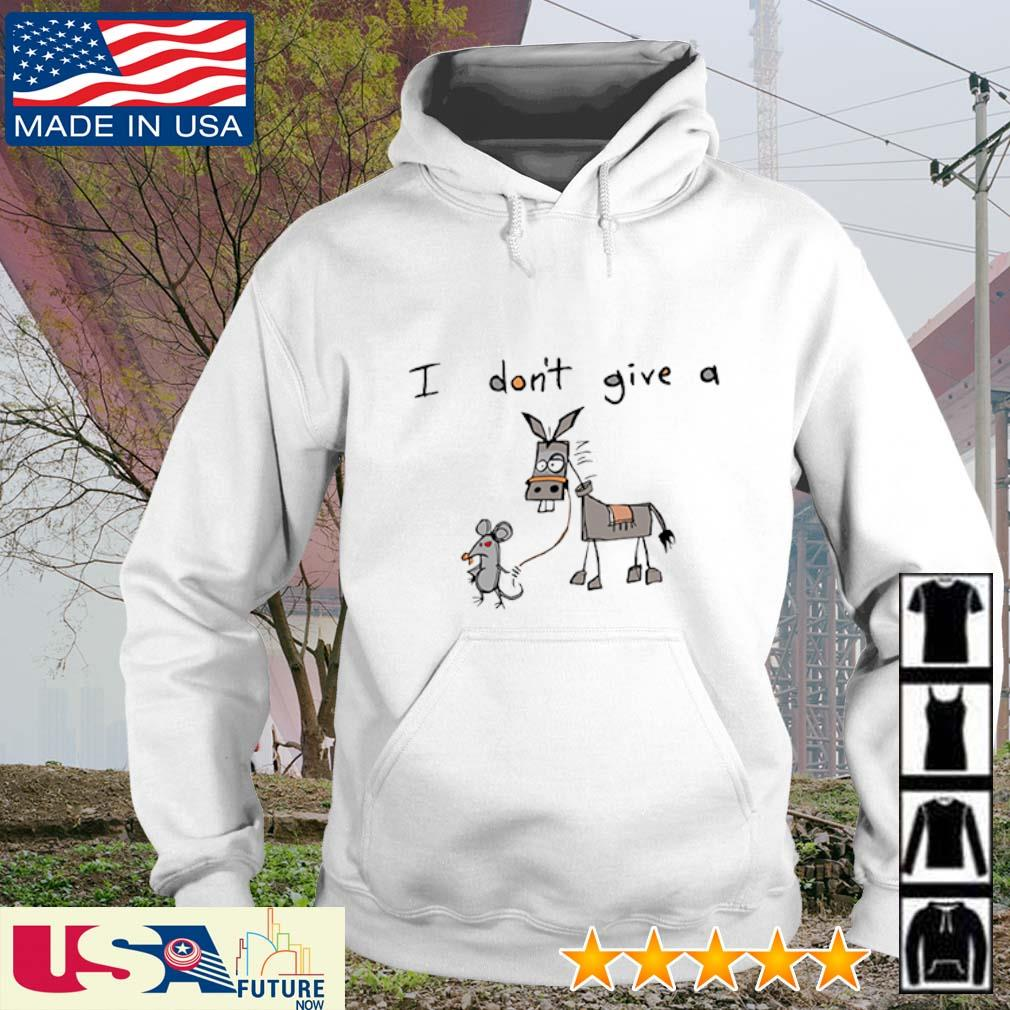 Mouse and Donkey I don't give a s hoodie